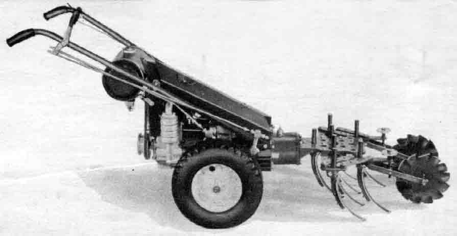 1965 Gravely 4 Wheel Tractor : Gravely tractors